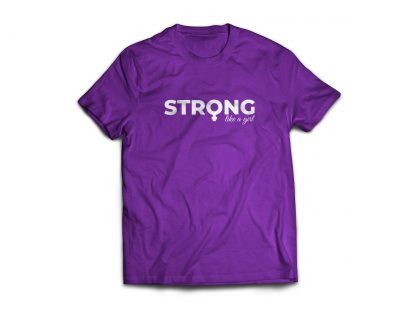 Camiseta Strong like a Girl